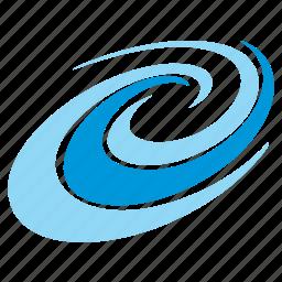 blue, element, summer, tourism, water, wave icon