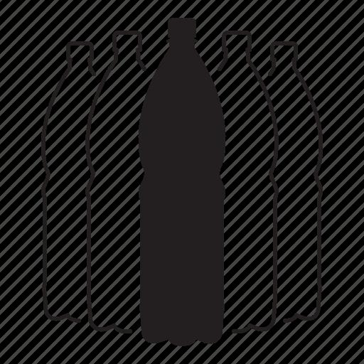 bottle, drink, liter, plastic, water icon