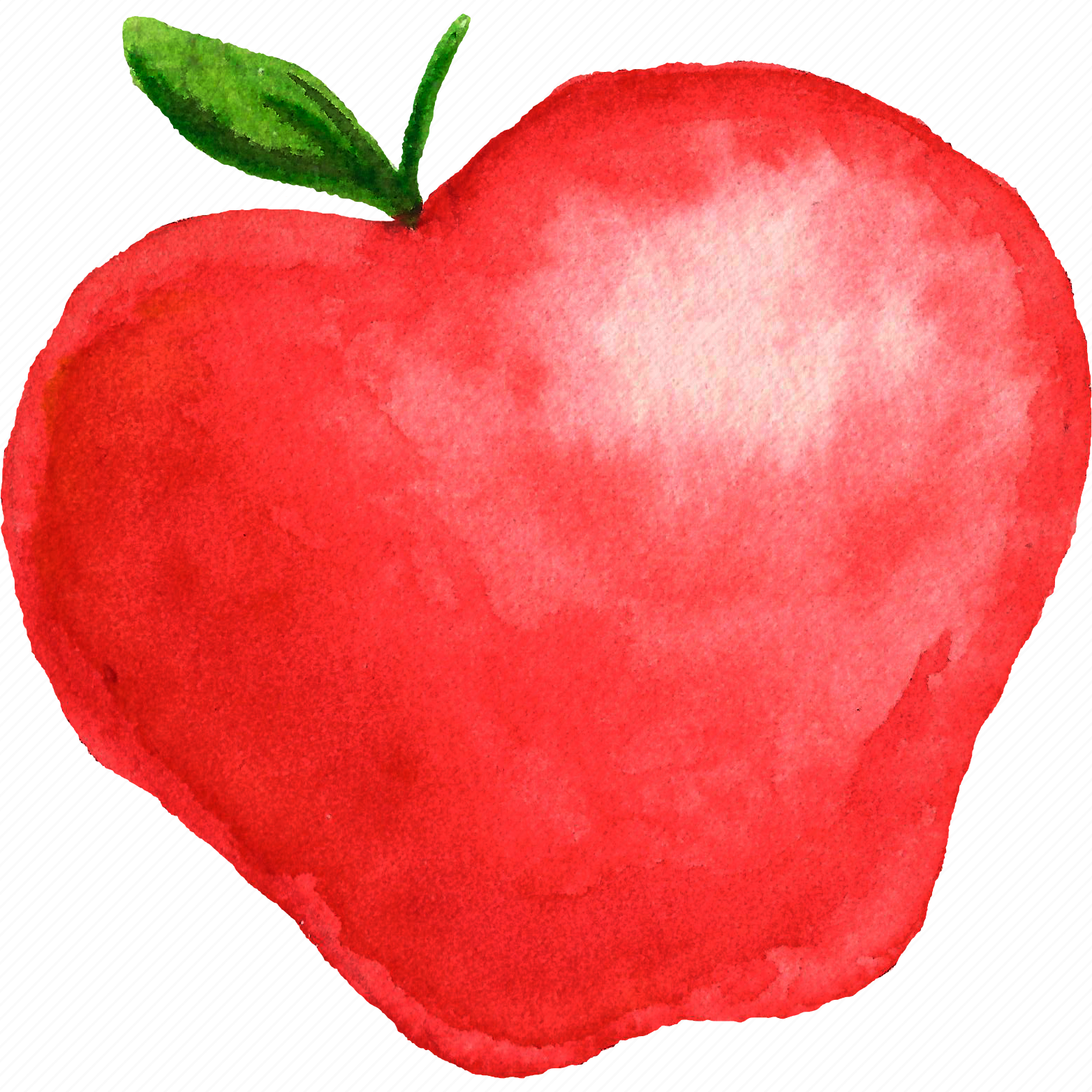 apple, cuisine, food, fruit, fruits, watercolor, watercolors icon