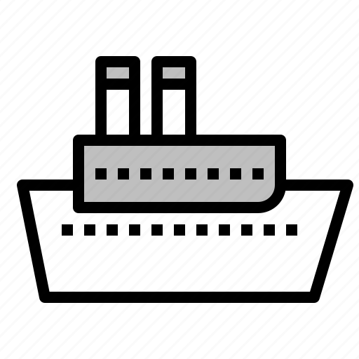 boat, cruise, marine vessel, ship, vehicle, watercraft icon