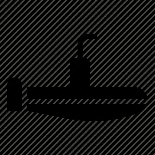 boat, marine vessel, ship, submarine, vehicle, watercraft icon