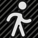 walking, fast