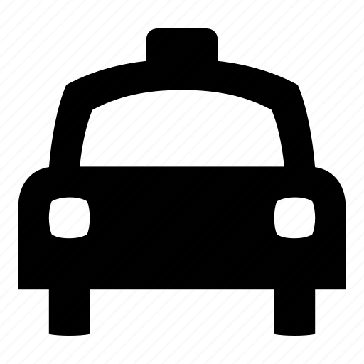 auto, automobile, cab, car, taxi, taxi cab, vehicle icon