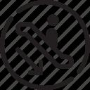 astir, escalator, escalator clause, hoist, improving, moving staircase, shopping center icon
