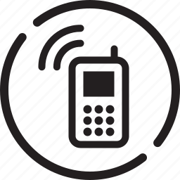call, cell, contact, help, mobile, ringer, talk icon