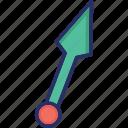 dart, jinja throw, kunai, ninja weapon, weapon icon