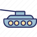 armed force tank, armored vehicle, army tank, military tank, tank icon