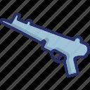armament, rifle, sniper, sniper rifle, weapon icon