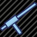 baton, police baton, police equipment, police weapon, weapon icon