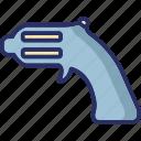 gun, shooting, shooting gun, space gun, weapon icon