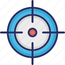 crosshair, optical sight, reticle, sight, target\ icon