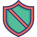 defence, defend, guard, protect, security shield icon