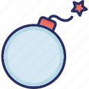 armaments, bomb, bombshell, plastic explosive, weapon icon