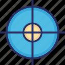 crosshair, optical sight, reticle, rifle crosshair, sight icon