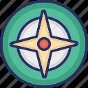 crosshair, four pointed star, gun target, shooting target, weapon target icon