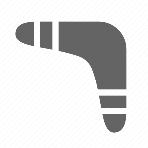 boomerang, sport, weapon icon
