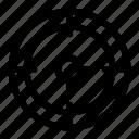 bullet target, shoot, shooting, target icon