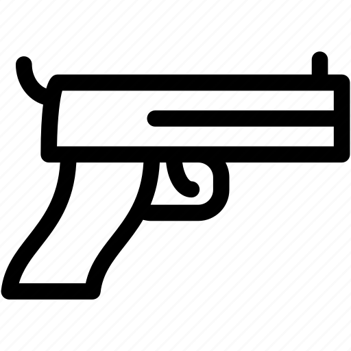 Fire, gun, pistol, weapon icon - Download on Iconfinder