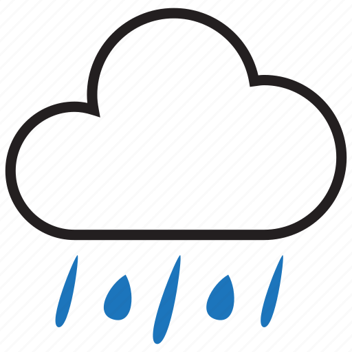 climate, cloud, rain, rainy icon