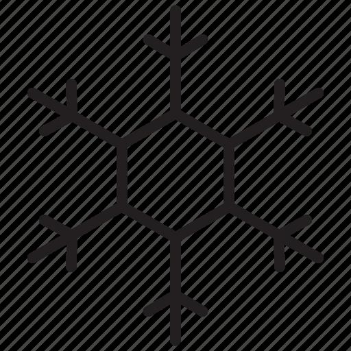 flake, snow, snowflake, winter icon