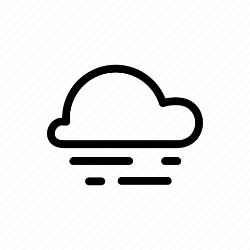 cloud, fog, overcast, smoke, weather icon