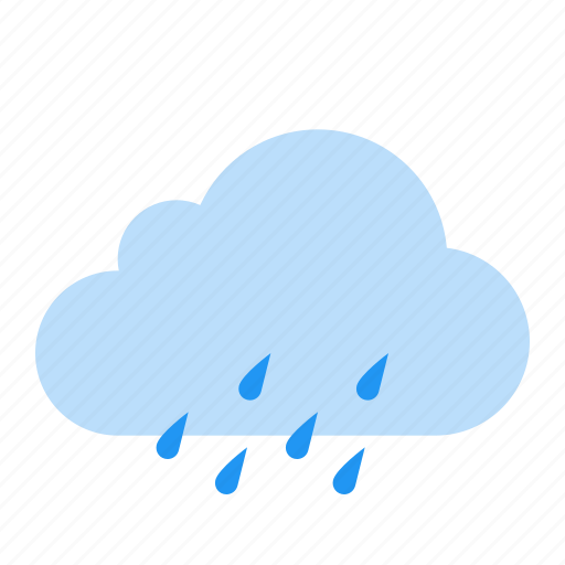 cloud, drizzle, rain, weather icon
