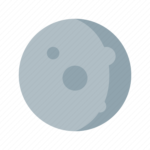 clear, moon, night, weather icon