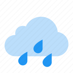 cloud, rain, showers, weather icon