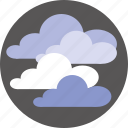 clouds, forecast, sky, weather icon