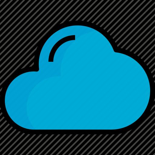 closet, cloud, season, weather icon