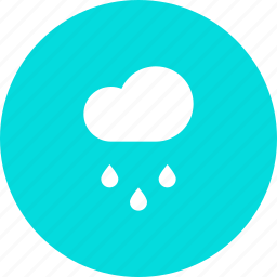 cloud, drizzle, forecast, rain, rainfall, weather icon