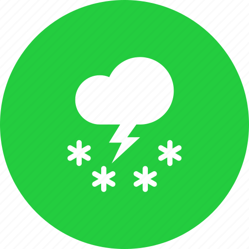 cloud, forecast, snow, snowfall, storm, weather icon