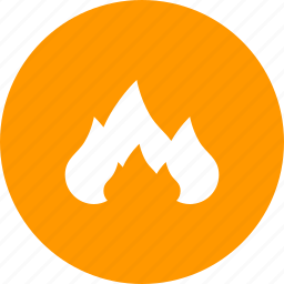 burn, fire, flame, heat icon