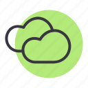 cloud, clouds, forecast, rain, sky, weather icon