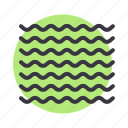 fog, foggy, mist, sea, wave, waves icon