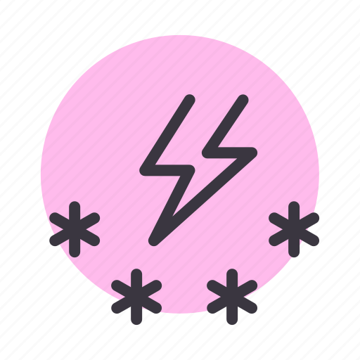 forecast, snow, snowfall, storm, weather icon