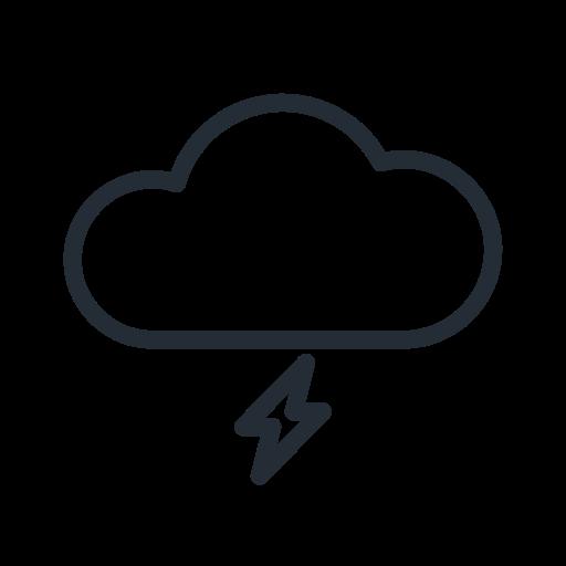 flash, lightning, stormy, thunder, weather icon