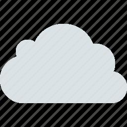 cloud, clouds, cloudy, forecast, grey, rain icon