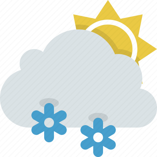 cloud, forecast, snow, snowy, weather, winter icon
