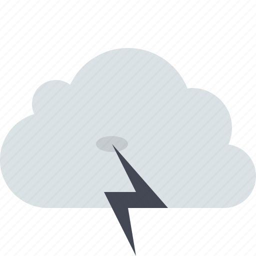 cloud, lightning, storm, stormy, summer storm, thunder, weather icon