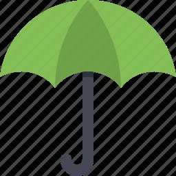 cover, protect, protection, rain, safety, shield, umbrella icon