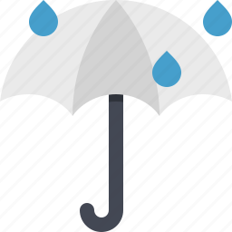 protect, protection, rain, safety, shield, stormy, umbrella icon