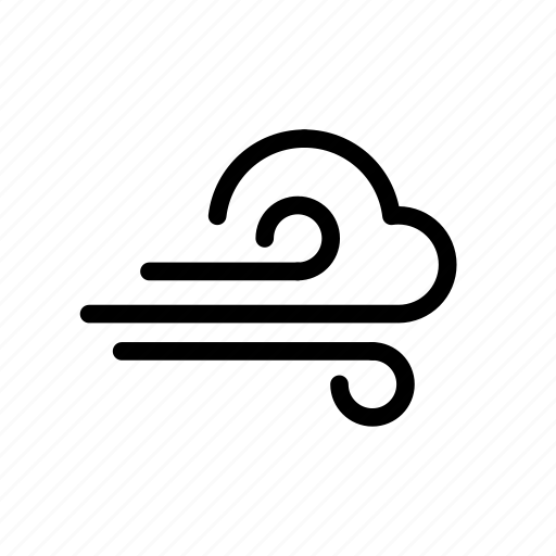 clouds, night, storm, sunny, weather, wind icon