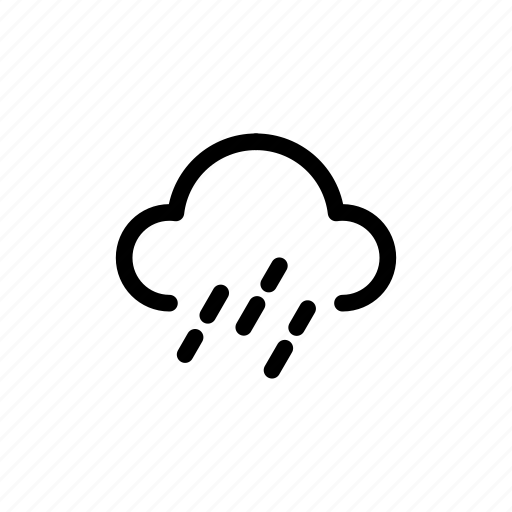 climate, clouds, night, storm, weather icon