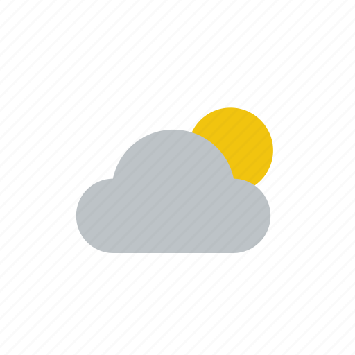 clouds, cloudy, moon, snow, sun, weather icon