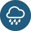 heavy, rain icon