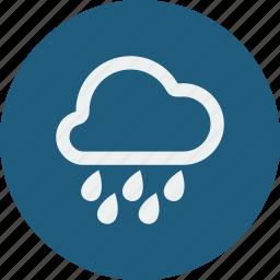 heavy, rain icon