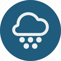 cloud, cloudy, forecast, heavy, heavy snowball, snowball, weather icon