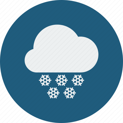 heavy, snowfall icon