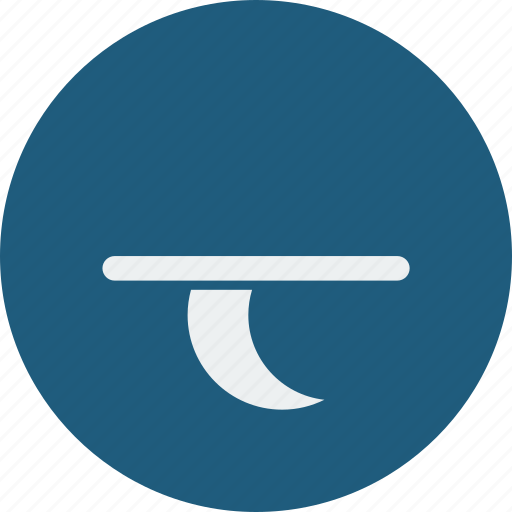 forecast, moon, night, set, weather icon